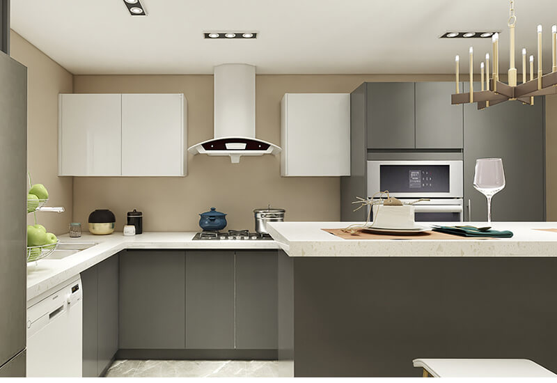 how to choose materials for modern kitchen cabinets